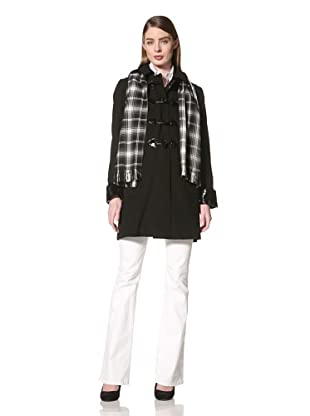 Jane Post Women's Duffle Jacket (Black)