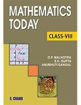 Mathematics Today for Class 8 (ICSE)