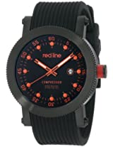 red line Men's 18001-BB-010R Compressor Collection Watch