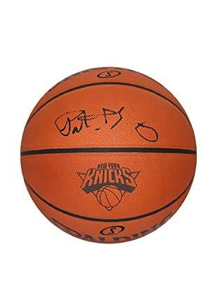 Steiner Sports Memorabilia Patrick Ewing Signed Knicks Logo Basketball