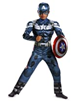 Disguise Marvel Captain America The Winter Soldier Movie 2 Captain America Cl...