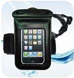 iPhone4 ギャラクシーS対応 スマートフォン用 防塵防水 IPX 8 ケース / 防水イヤホン・アームバンド付き LMB-008,NoBrand,B004NMJRJ6
