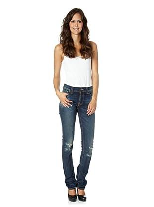 Nudie Jeans Co Jeans Thin Finn Peter Replica (Blau)