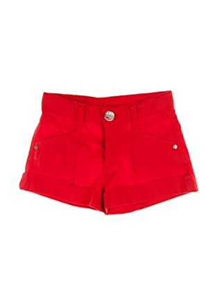 Metrokids Pantalón Corto Niña Hong (Rojo)