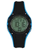Calypso Black PU Digital Men Watch K5614 3