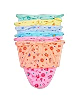 (SUMMER SPECIAL) Firststep newborn hosiery baby nappies pack of 6pcs (multi)