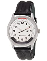 Fastrack Analog White Dial Men's Watch - NE3001SL01