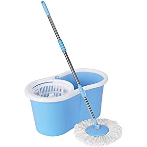 Premsons Magic Wash Floor Cleaning spin Mop(color may vary)
