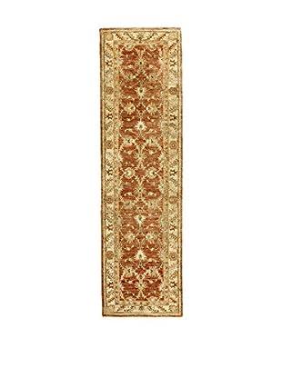 L'Eden del Tappeto Teppich Agra beige/braun 283t x t80 cm