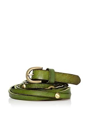 Sándalo Cinturón Tachuelas (Verde)