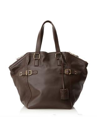 Yves Saint Laurent Women's Downtown Bag, Brown