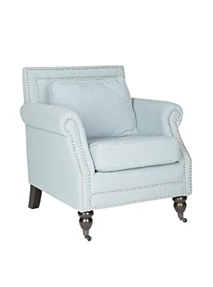 Safavieh Karsen Club Chair, Sky Blue