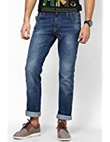 Blue Slim Fit Jeans (Millard) Wrangler