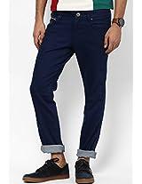 Indigo Regular Fit Jeans (Rockville)
