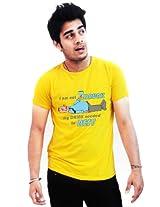 Incynk Men's T-Shirt - MSS94 (Yellow)
