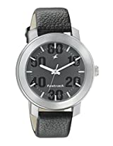 Fastrack Casual Analog Grey Dial Men's Watch - 3121SL02