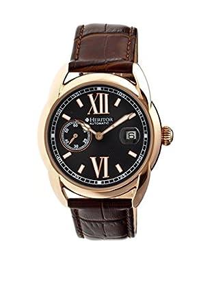 Heritor Automatic Uhr Burnell Herhr1808 braun 47  mm