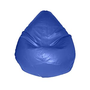 INVOGUE S Blue Bean Bag (With Beans)