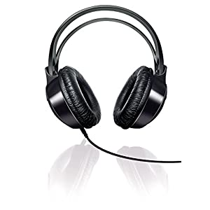 Philips Indoor SHP1900/00 Over-Ear Headphone (Black)