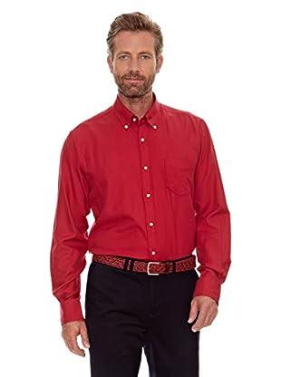 Cortefiel Camisa Liso (Rojo)