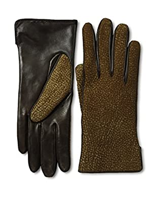 Portolano Women's Borbonese Top Leather Gloves (Teak/Borbonese)