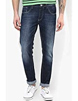 Indigo Slim Fit Jeans Phosphorus