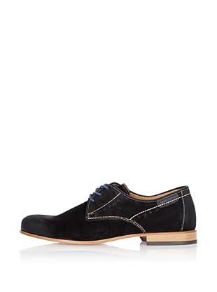 Fretz Men Zapatos Saint Lucie (Negro)