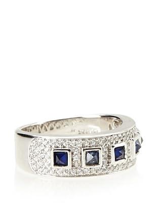 Crislu Sapphire Ring