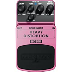 BEHRINGER HD300 HEAVY DISTORTION