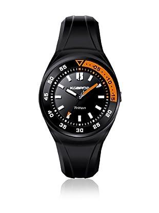 K&BROS Reloj 9475 (Negro / Naranja)