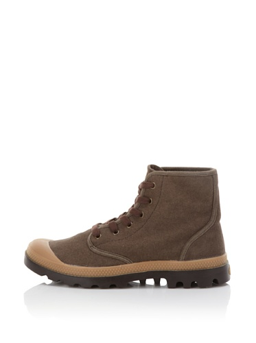 Palladium Men's Pampa Hi Canvas Boot (Chestnut/Putty)