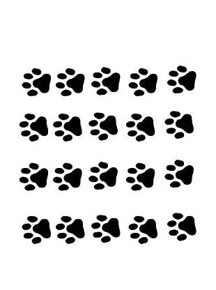 Ambiance Sticker Wandtattoo Cat Footprintss