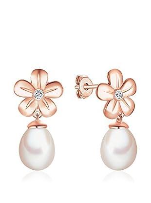 Tess Diamonds Ohrringe weiß/rosévergoldet