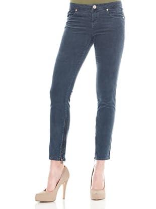 Calvin Klein Jeans Pantalón Cremalleras (Azul)