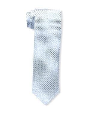 Bruno Piattelli Men's Microneat Silk Tie, Blue