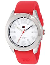 Tommy Hilfiger Women's 1781258 Sport Red Silicon Stainless Steel Watch