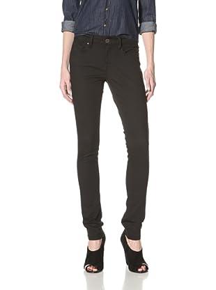 Mavi Women's Alexa Super Skinny Jean (Black Super)