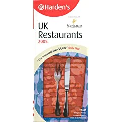 Hardens UK Restaurants 2005 (Harden's Guides)