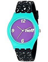 Neff Typhoon Watch Speckle/Mint Mens