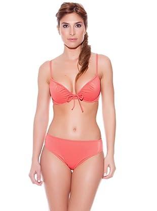 Teleno Bikini Con Aro Y Foam (Rojo)