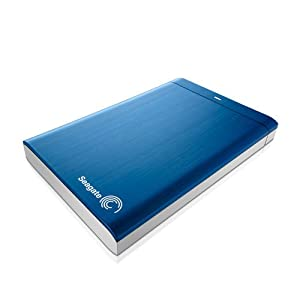 Seagate Backup Plus 1TB Portable External Hard Drive (Blue)