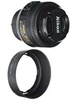 Nikon AF-S DX Nikkor 35mm f/1.8G Prime Lens for Nikon Digital SLR Camera (Black)