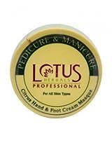 Lotus Professional Pedicure and Manicure Citrus Hand & Foot Cream Masque,280gm