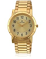 Karishma 1647Ym02 Golden/Champagne Analog Watch