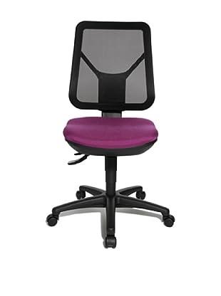 Topstar Bürodrehstuhl Ergo Net (lila/schwarz)