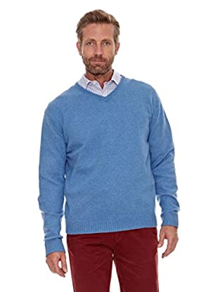 Cortefiel Jersey Pico (Azul)