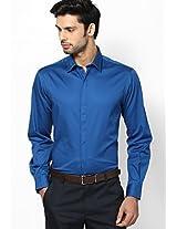 Aqua Blue Slim Fit Formal Shirt