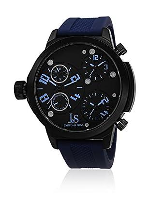 Joshua & Sons Quarzuhr JS-40-BU blau 53  mm