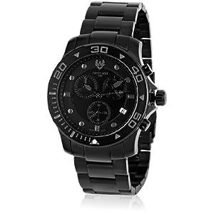 Swiss made Dive SE-9001-77 Black/Black Chronograph