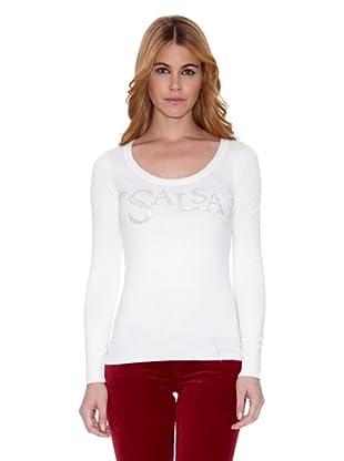 Salsa Camiseta France Slim (Blanco)